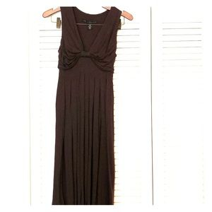 Chocolate Brown midi dress, xs. Robert Rodriguez